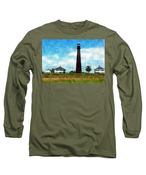Point Bolivar Lighthouse 1872 Long Sleeve T-Shirt