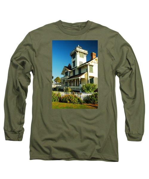 Point Fermin Lighthouse Long Sleeve T-Shirt