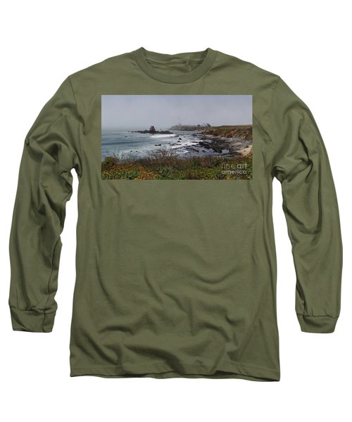 Long Sleeve T-Shirt featuring the photograph Point Montara Lighthouse by David Bearden