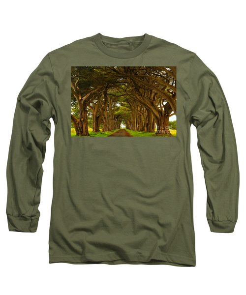 Point Reyes Cypress Tunnel Long Sleeve T-Shirt