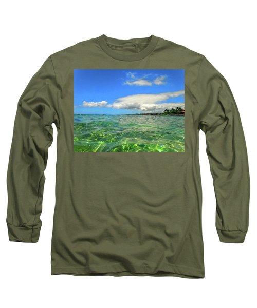 Poipu Beach Long Sleeve T-Shirt