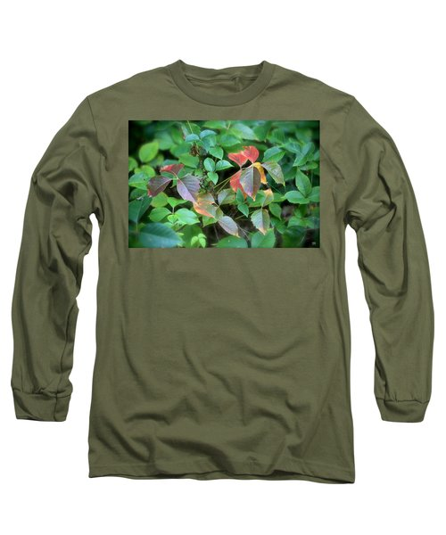 Poison Ivy In August Long Sleeve T-Shirt