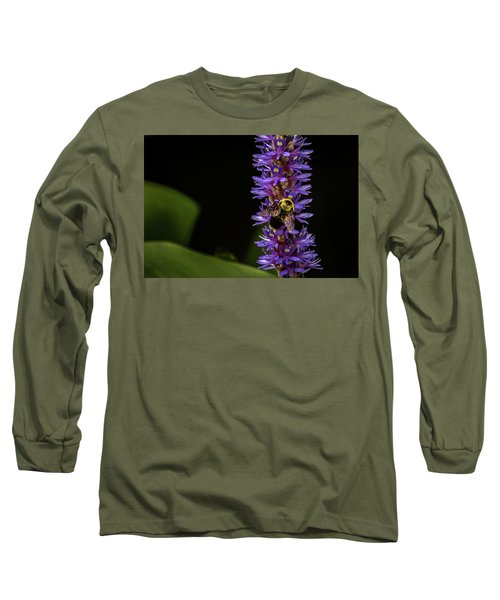 Long Sleeve T-Shirt featuring the photograph Pollen Collector 3 by Jay Stockhaus