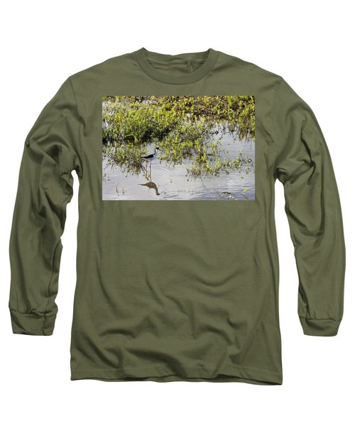 Pond Birdie Long Sleeve T-Shirt