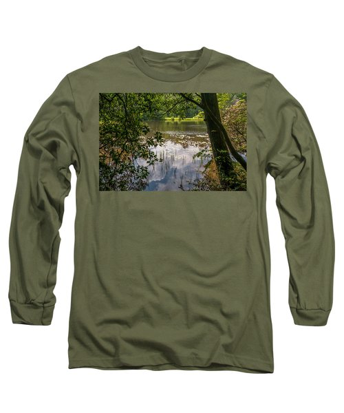 Pond In Spring Long Sleeve T-Shirt