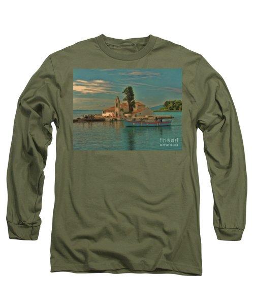 Pontikonisi Corfu Long Sleeve T-Shirt