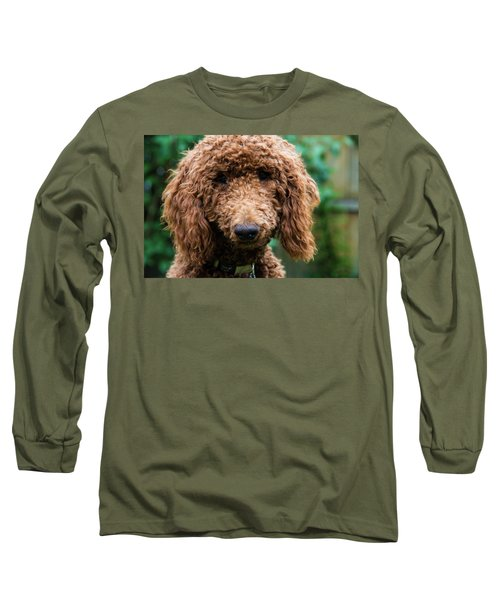 Poodle Pup Long Sleeve T-Shirt