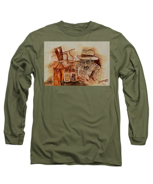 Popcorn Sutton - Waiting On Shine Long Sleeve T-Shirt