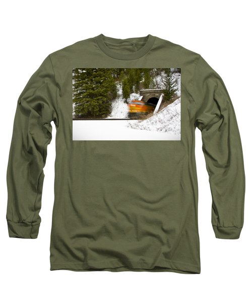 Popping Out Of Tunnel 1012 Long Sleeve T-Shirt
