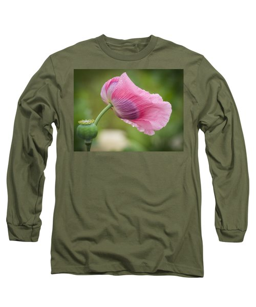 Poppy In The Wind Long Sleeve T-Shirt