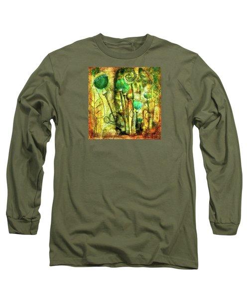 Poppy Pods Long Sleeve T-Shirt
