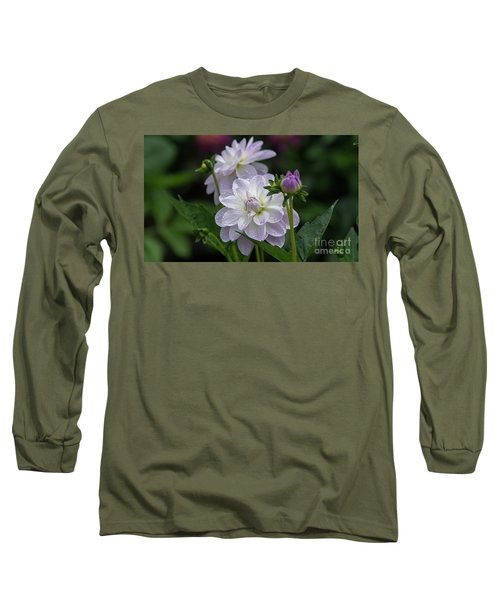 Porcelain Dahlias Long Sleeve T-Shirt