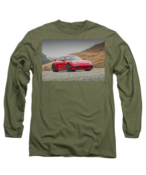 Porsche 991 Gt3 Long Sleeve T-Shirt