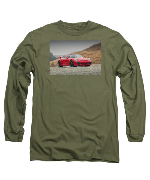 Porsche 991 Gt3 Long Sleeve T-Shirt