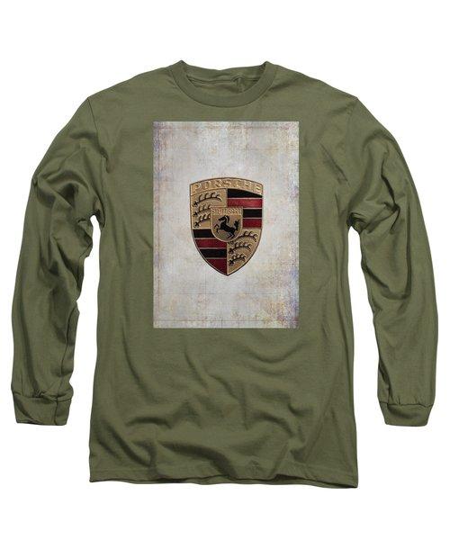 Porsche Shield Long Sleeve T-Shirt