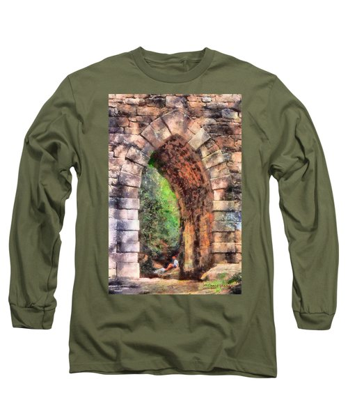 Portal Into Summertime Long Sleeve T-Shirt