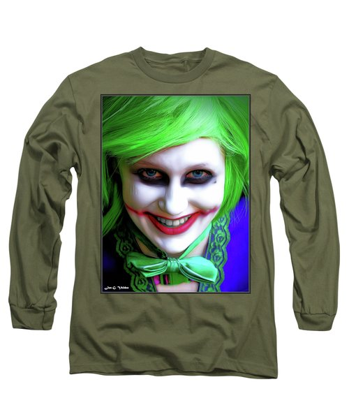 Portrait Of A Joker Long Sleeve T-Shirt