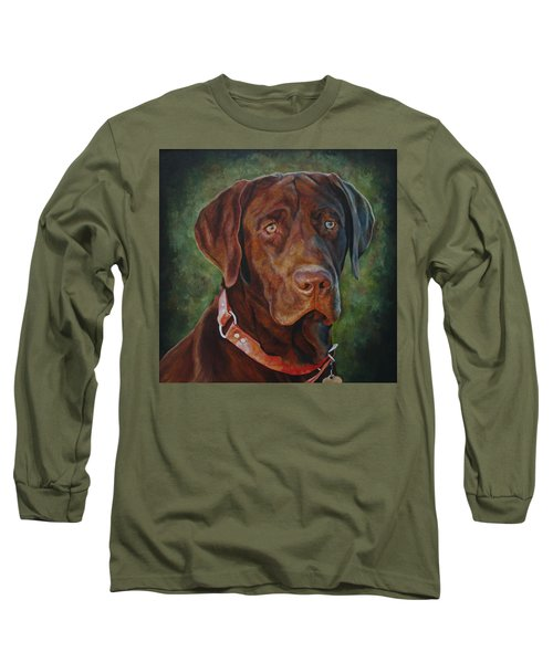 Portrait Of Remington 0094_2 Long Sleeve T-Shirt