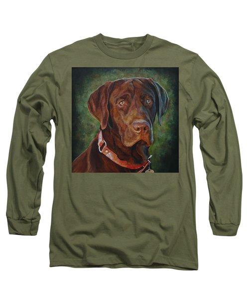 Portrait Of Remington 0094_2 Long Sleeve T-Shirt
