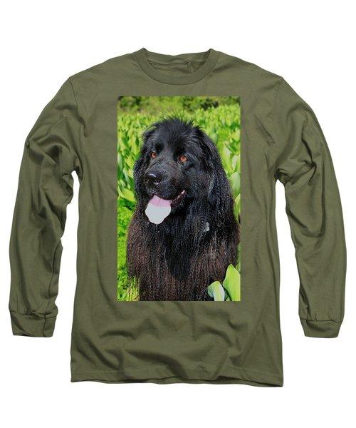 Portrait Of Sierra Long Sleeve T-Shirt