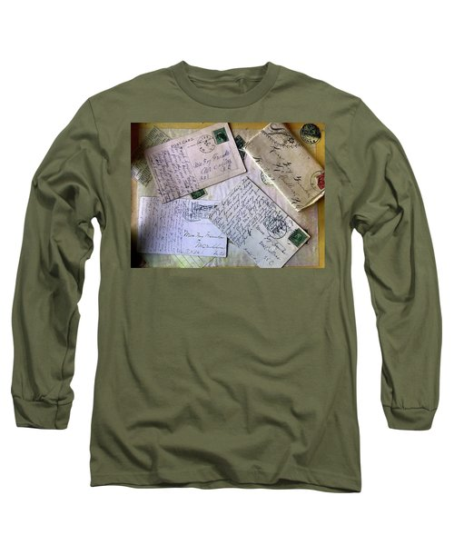 Postcards And Proposals Long Sleeve T-Shirt