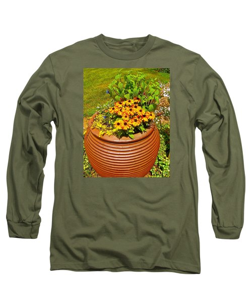 Pot O' Gold Long Sleeve T-Shirt by Randy Rosenberger