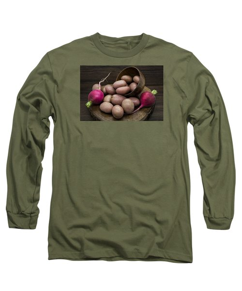 Potatoes And Radishes Long Sleeve T-Shirt