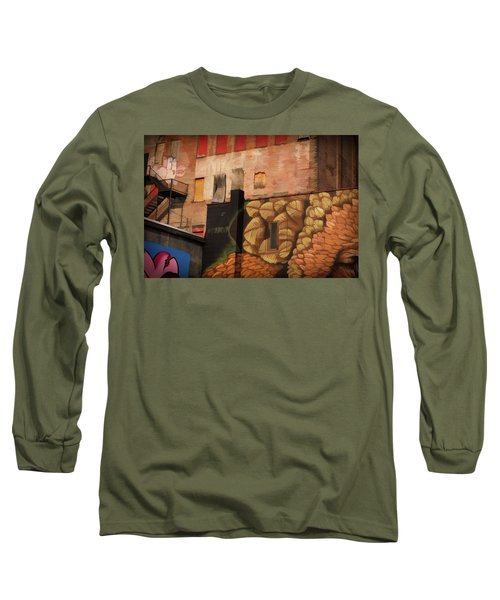 Poughkeepsie Street Art Long Sleeve T-Shirt