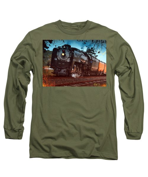 Pounding Up The Texas Grade Long Sleeve T-Shirt by J Griff Griffin