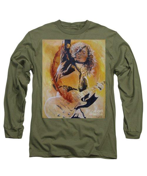 Power Chord Long Sleeve T-Shirt by Stuart Engel