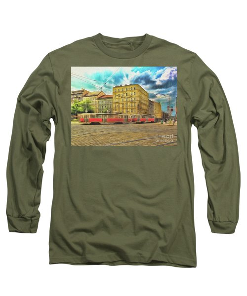 Long Sleeve T-Shirt featuring the photograph Prague by Leigh Kemp