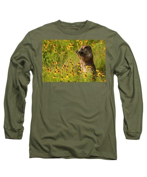 Prairie Dog Lunch Long Sleeve T-Shirt