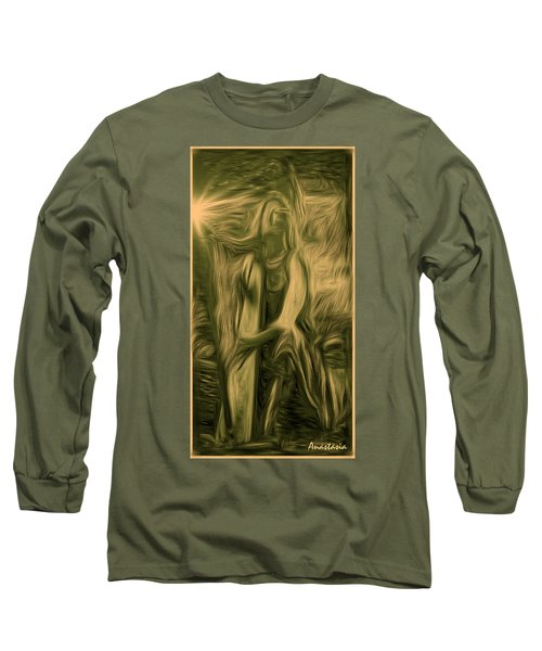 Long Sleeve T-Shirt featuring the photograph Praise Him With The Harp I by Anastasia Savage Ealy