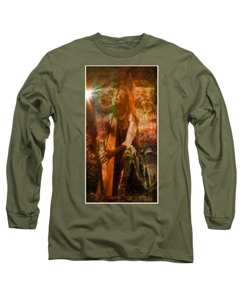 Praise Him With The Harp II Long Sleeve T-Shirt