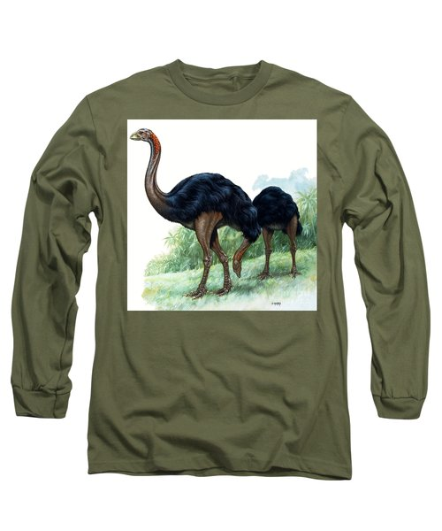 Pre-historic Birds Long Sleeve T-Shirt