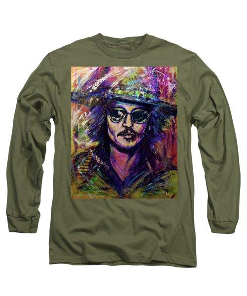 Precious Metals, Johnny Depp Long Sleeve T-Shirt