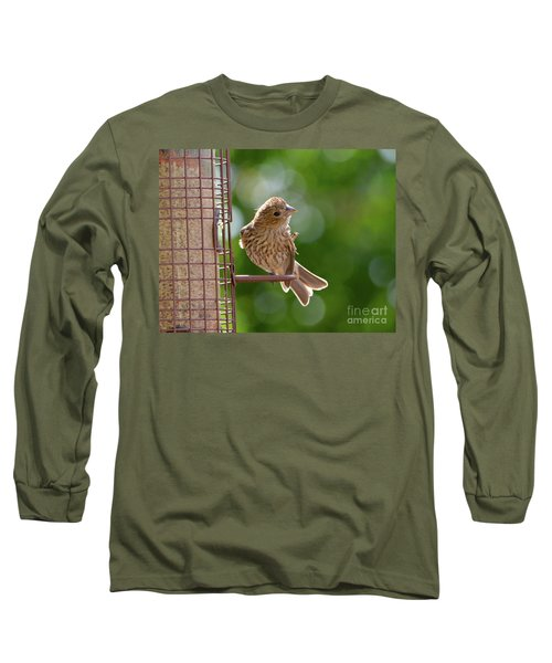 Preening Long Sleeve T-Shirt