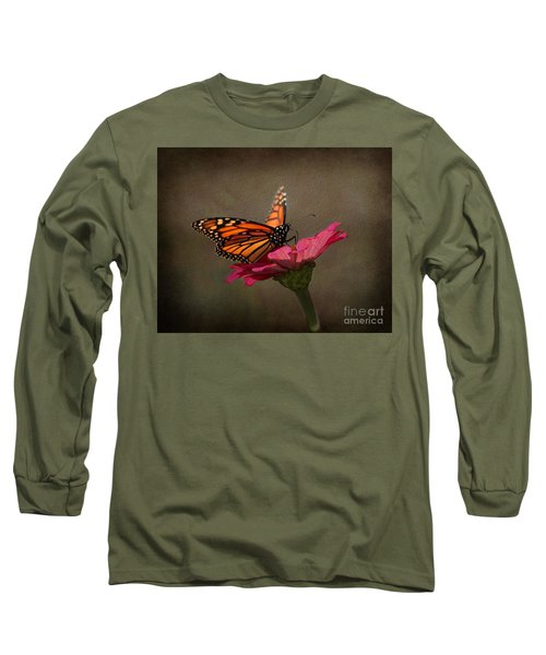Prefect Landing - Monarch Butterfly Long Sleeve T-Shirt