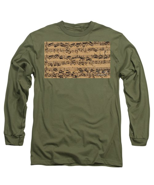 Prelude, Fugue And Allegro In E Flat Long Sleeve T-Shirt