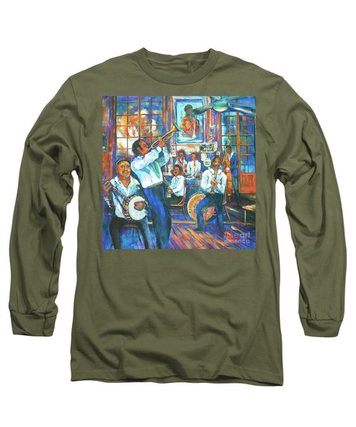 Preservation Jazz Long Sleeve T-Shirt by Dianne Parks