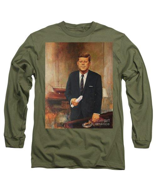 President John F. Kennedy Long Sleeve T-Shirt
