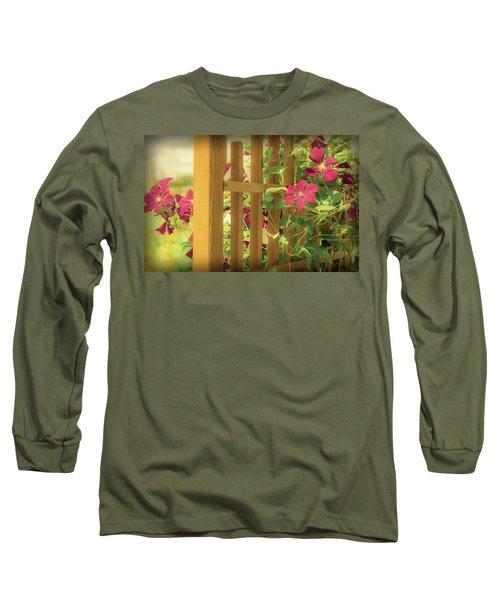 Pretty Flower Garden Long Sleeve T-Shirt