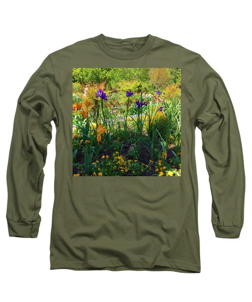 Pretty Flowers Long Sleeve T-Shirt by Kay Gilley