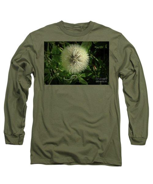 Pretty Fluffy Seedhead Long Sleeve T-Shirt