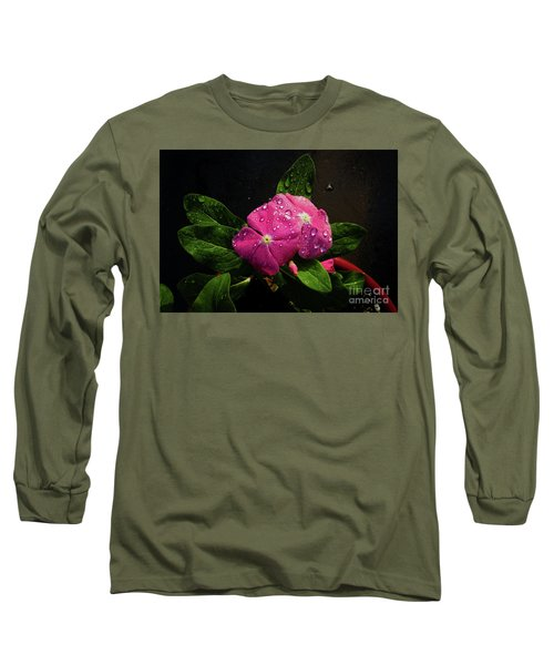 Long Sleeve T-Shirt featuring the photograph Pretty In Pink by Douglas Stucky