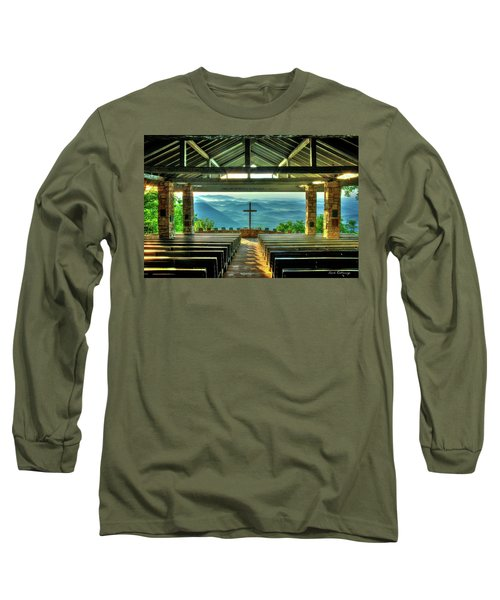 Pretty Place Chapel The Son Has Risen Long Sleeve T-Shirt by Reid Callaway