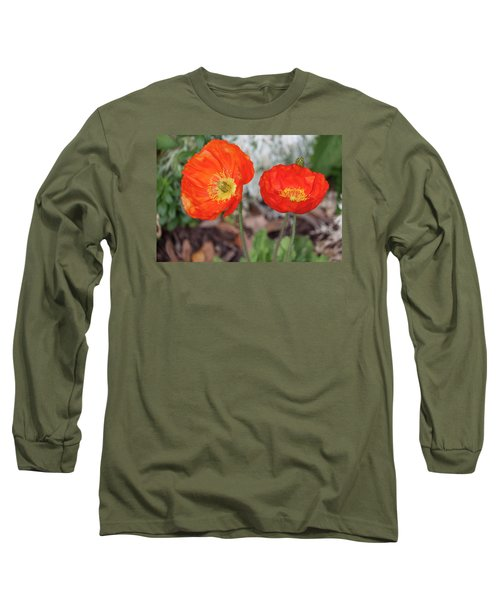 Pretty Poppies Long Sleeve T-Shirt
