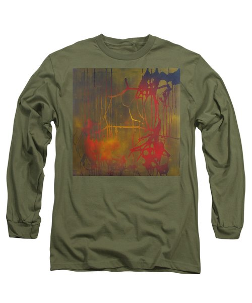Pretty Violence On A Screen Door Long Sleeve T-Shirt
