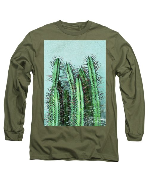 Prick Cactus Long Sleeve T-Shirt