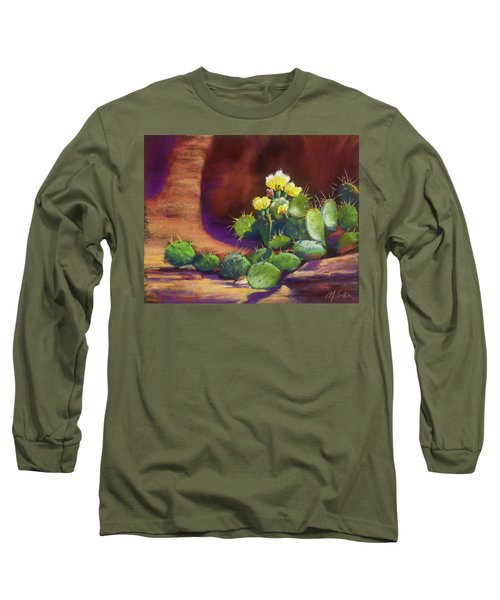 Pricklies On A Ledge Long Sleeve T-Shirt